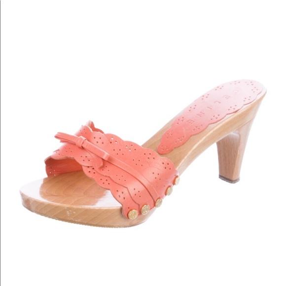 Celine leather slides, size 39